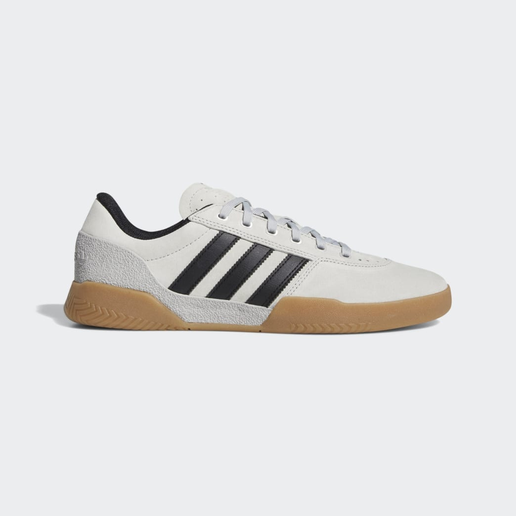 Adidas City Cup Shoes - Grey 2/Core Black/Gum 4 | Shoes by adidas Skateboarding 1