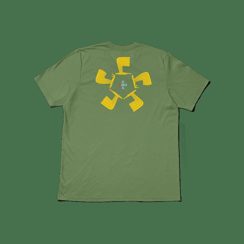 UMA WINGWING TEE - LIGHT OLIVE | T-Shirt by UMA Land Sleds 1