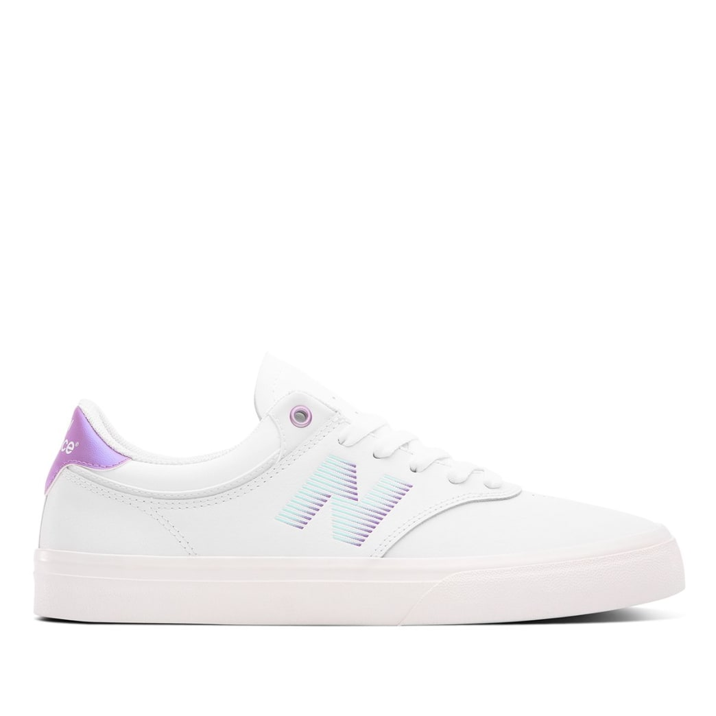 New Balance Numeric Jordan Taylor 255 Skate Shoe - White / Purple | Shoes by New Balance 1