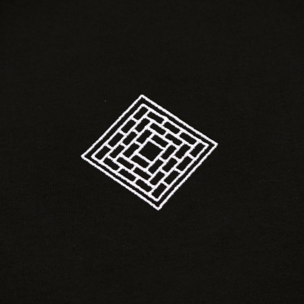 The National Skateboard Co Classic Text T-Shirt - Black | T-Shirt by The National Skateboard Co. 3