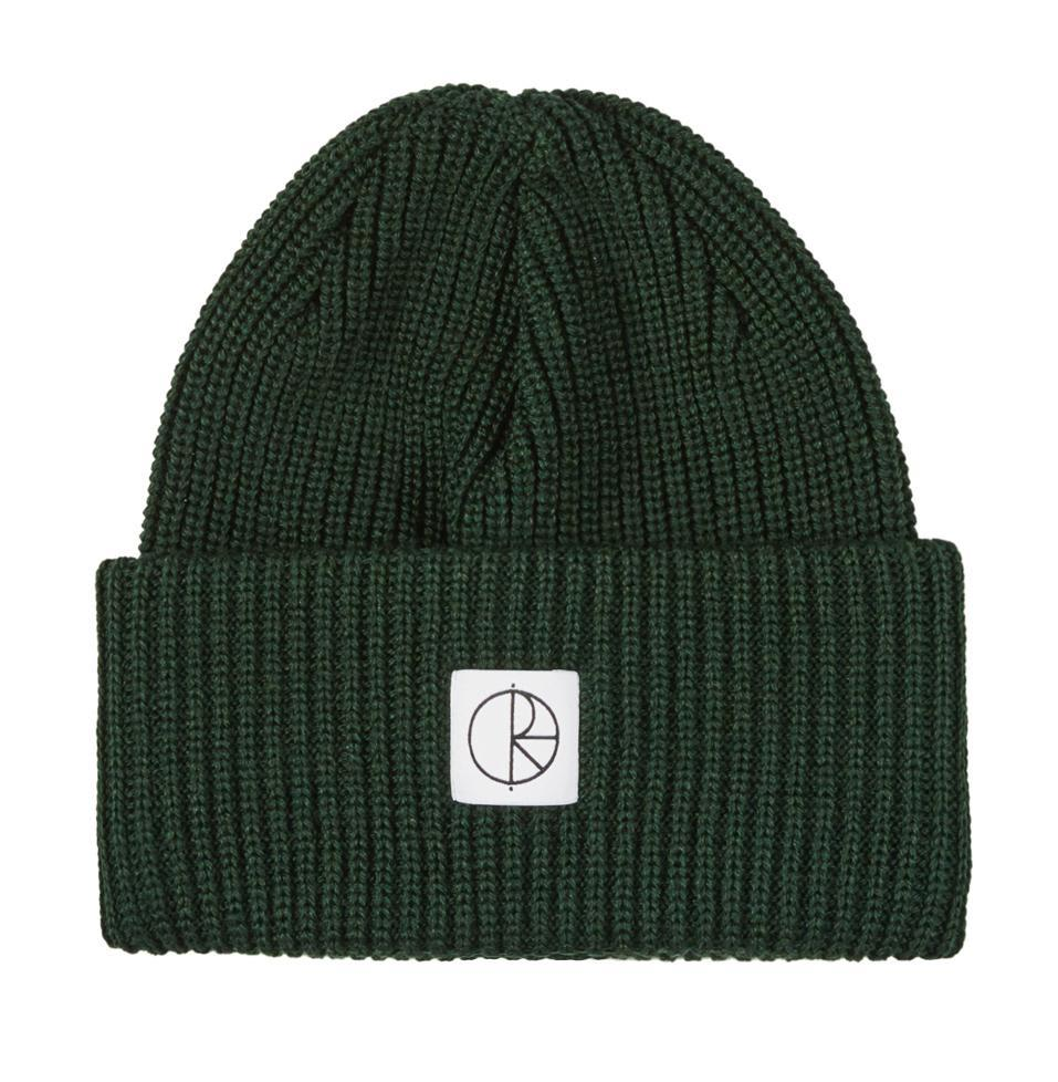 Polar Skate Co Double Fold Merino Beanie - Dark Green | Beanie by Polar Skate Co 1