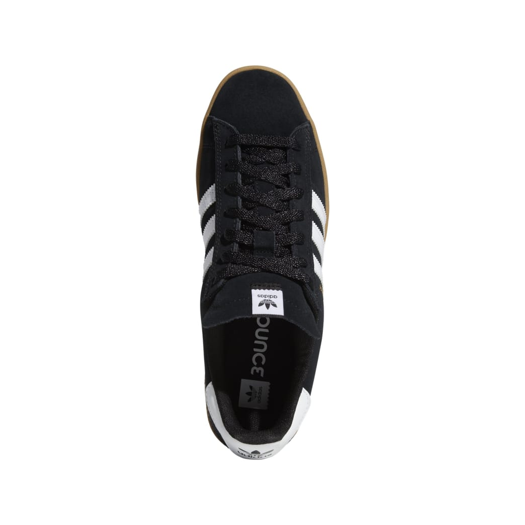 Adidas Campus ADV - Core Black / White / Gum | Shoes by adidas Skateboarding 5