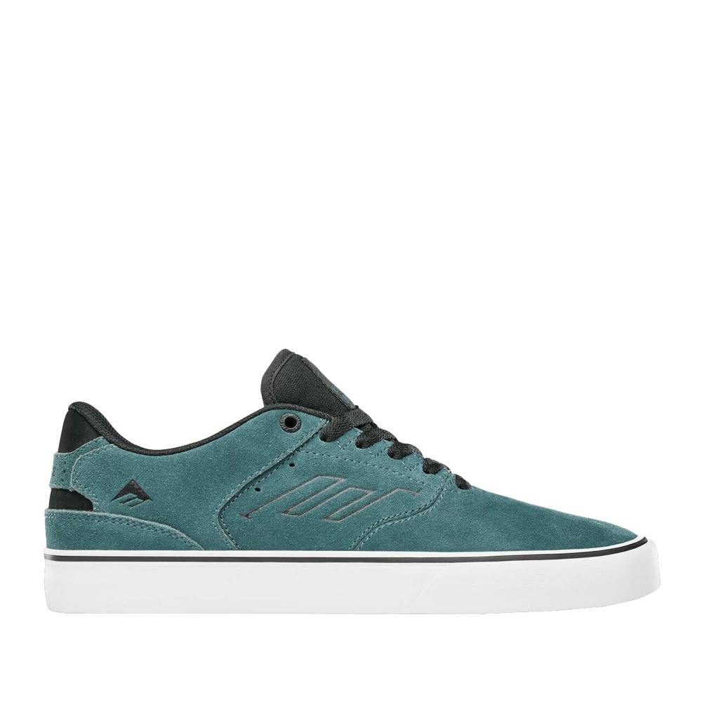 Emerica The Reynolds Low Vulc Skate Shoes - Teal / Black   Shoes by Emerica 1