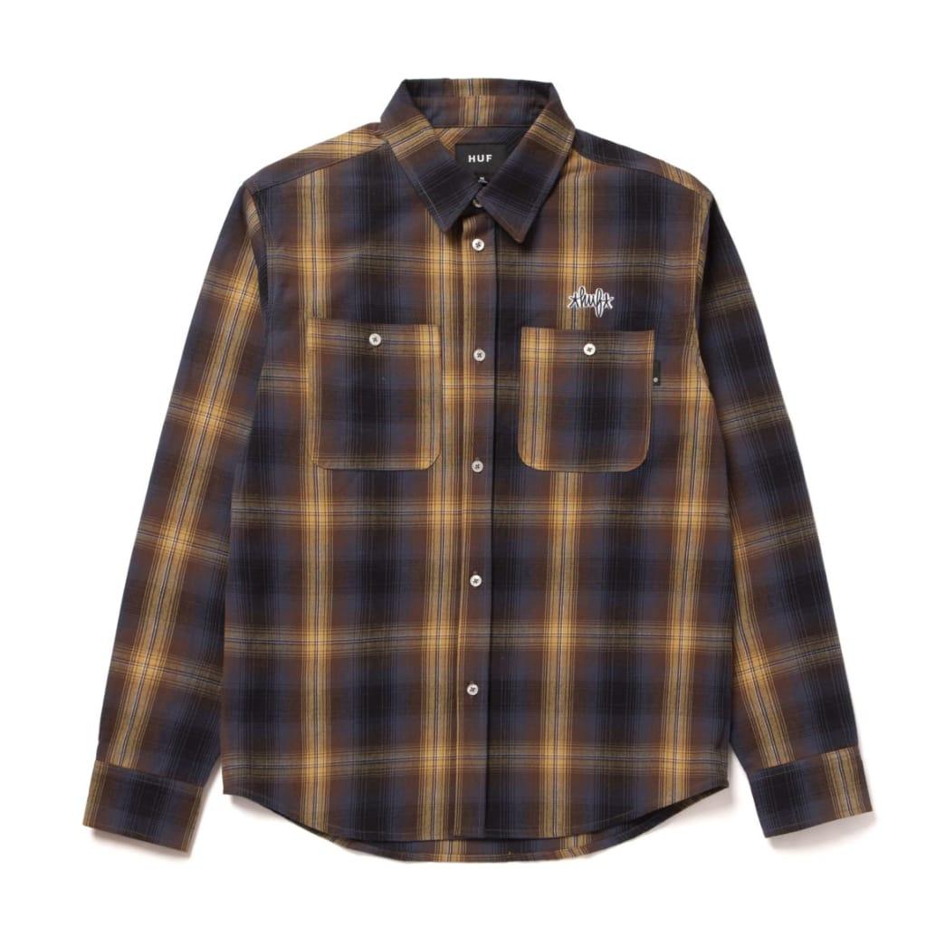 HUF Sanford Long Sleeve Flannel   Shirt by HUF 1