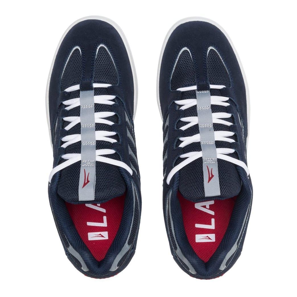 Lakai Carroll Suede Skate Shoes - Navy | Shoes by Lakai 3