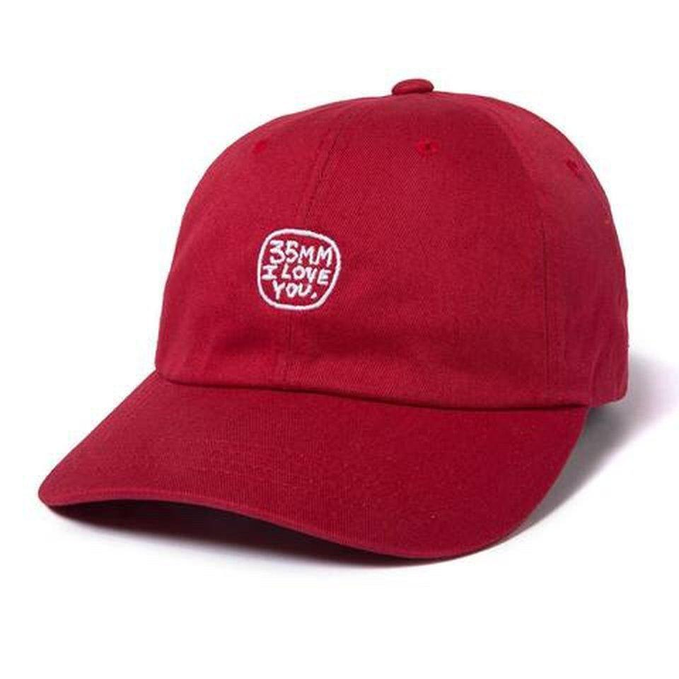 THE QUIET LIFE 35MM DAD HAT - RED | Baseball Cap by The Quiet Life 1