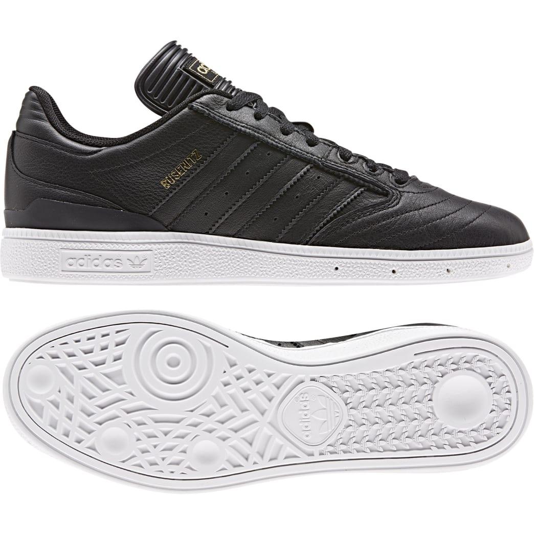 Adidas Busenitz - Core Black/Gold /White   Shoes by adidas Skateboarding 8