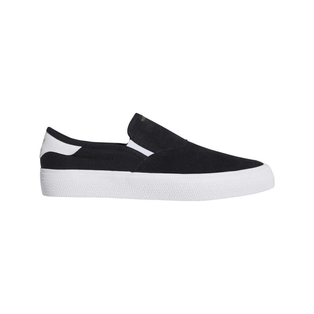 adidas 3MC Slip-On Skate Shoes - Core Black / FTWR White / Gold Met   Shoes by adidas Skateboarding 1