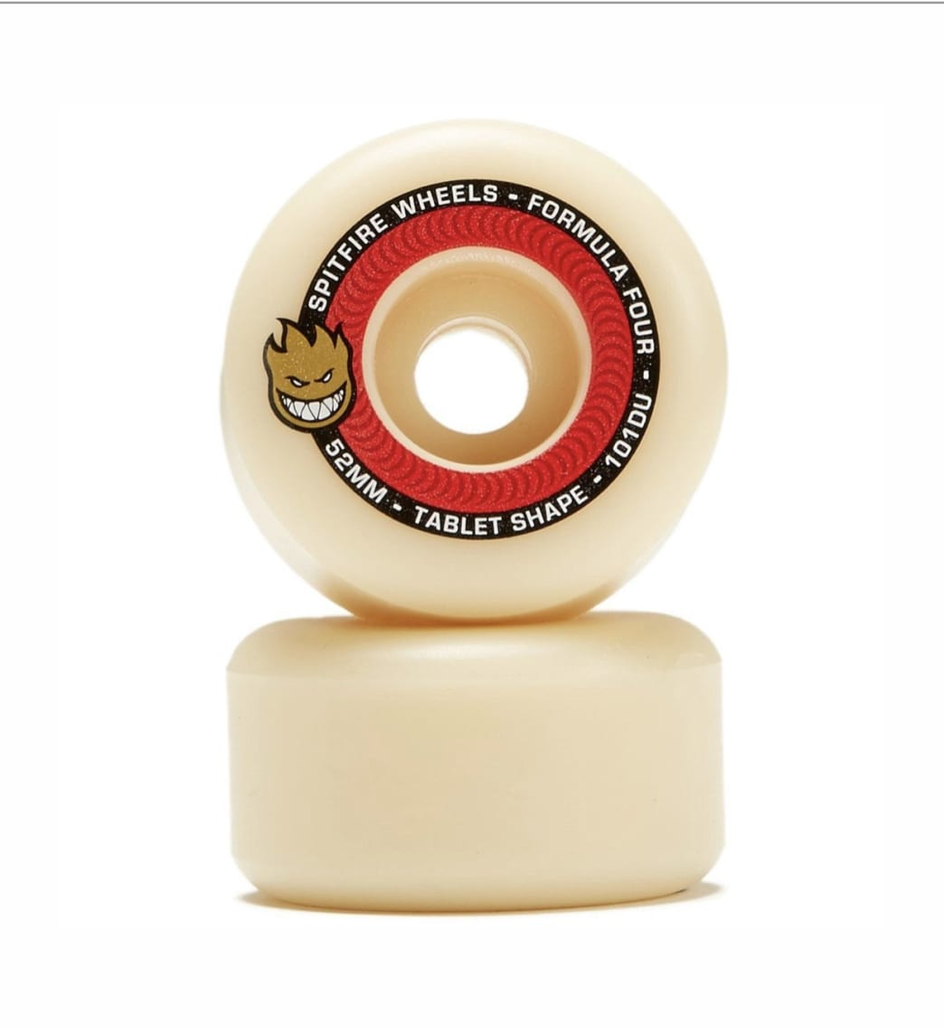 Spitfire - F4 101 Tablets Natural 52 | Wheels by Spitfire Wheels 1