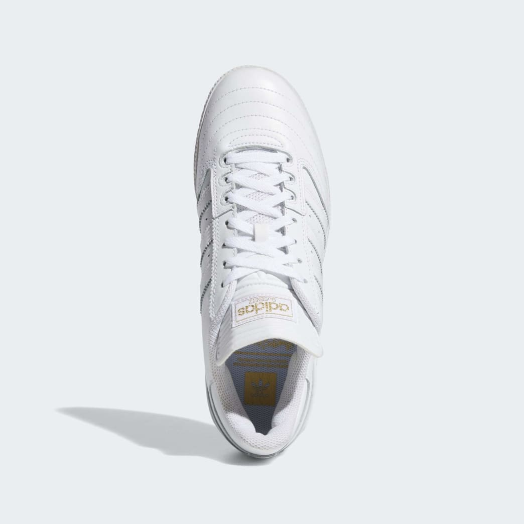 Adidas Busenitz Shoes - Cloud White/Gold Metallic/Cloud White | Shoes by adidas Skateboarding 2