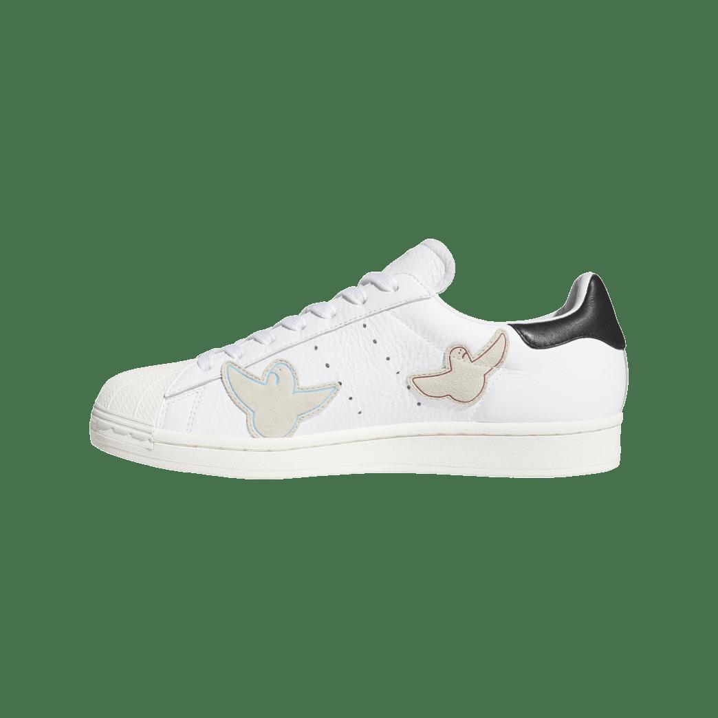adidas Skateboarding Superstar ADV x Gonz Shoes - Cloud White / Core Black / Chalk White | Shoes by adidas Skateboarding 4