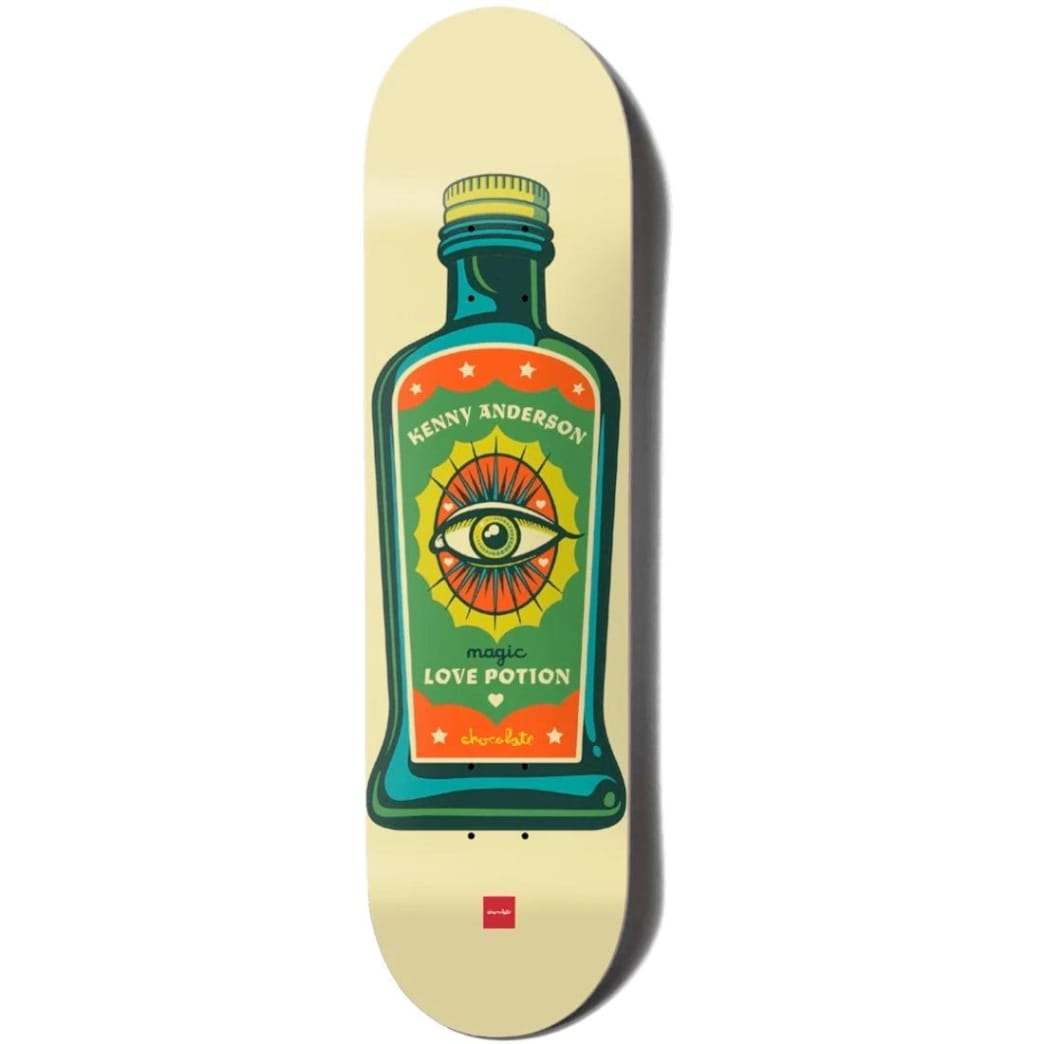 """Chocolate Deck Hecox Essentials Kenny Anderson 8.25""""   Deck by Chocolate Skateboards 1"""