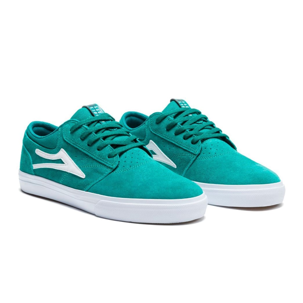Lakai Griffin Suede Skate Shoes - Jade | Shoes by Lakai 3