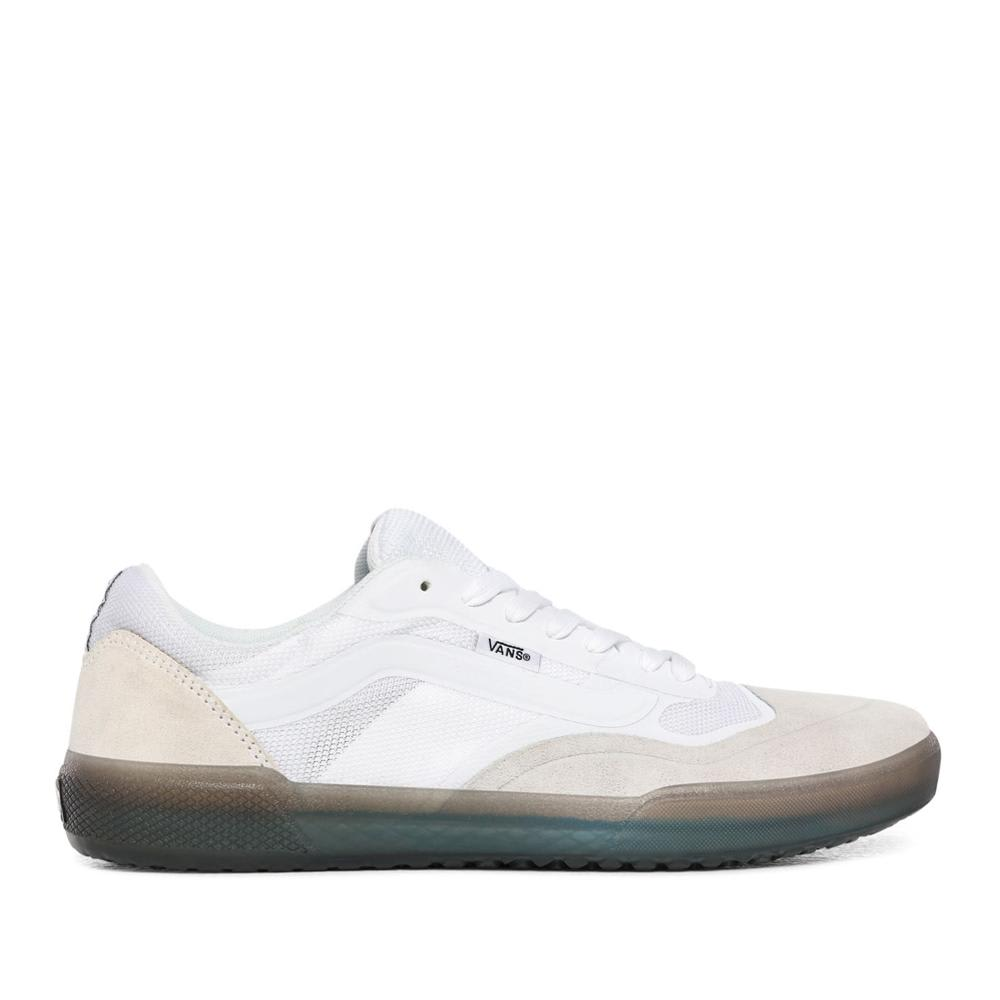 Vans AVE Pro Skate Shoes - White / Smoke | Shoes by Vans 1