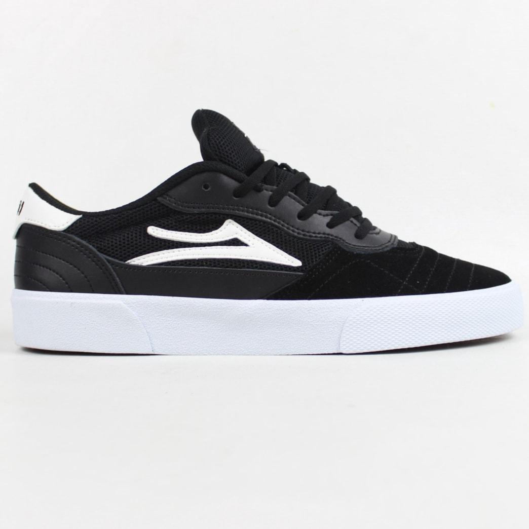 Lakai Cambridge Shoe Black/White Suede | Shoes by Lakai 1