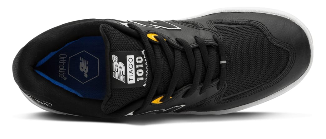 New Balance Numeric Tiago 1010 Skate Shoes - Black Leather | Shoes by New Balance 3