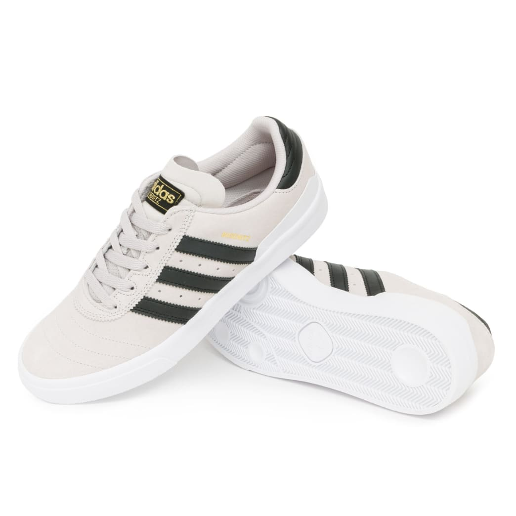 low priced 42751 aa2ac Adidas Busenitz Vulc Shoes - Crystal White Black White   Shoes by adidas  Skateboarding