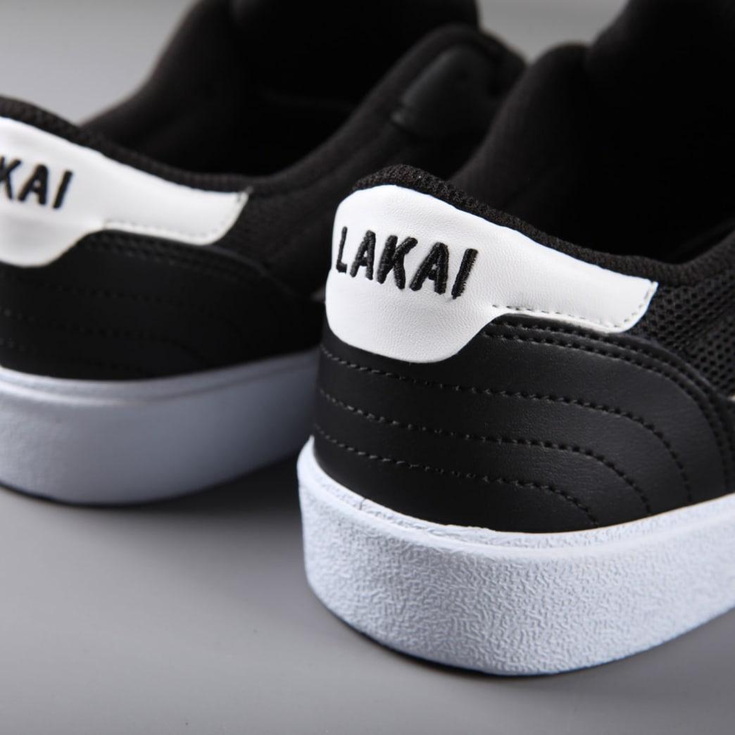 Lakai 'Cambridge' Skate Shoes (Black / White Suede) | Shoes by Lakai 4