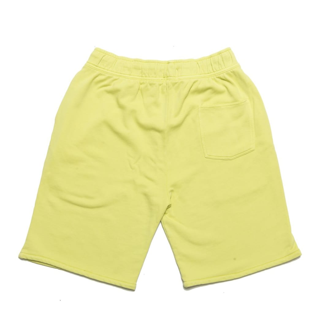 Chrystie NYC Garment Dye Classic Logo French Terry Sweat Shorts - Apple Green   Shorts by Chrystie NYC 2