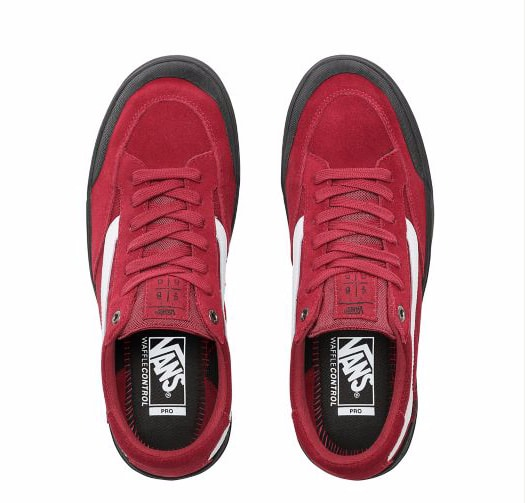 Vans Berle Pro Skateboarding Shoes - Rumba Red | Shoes by Vans 2