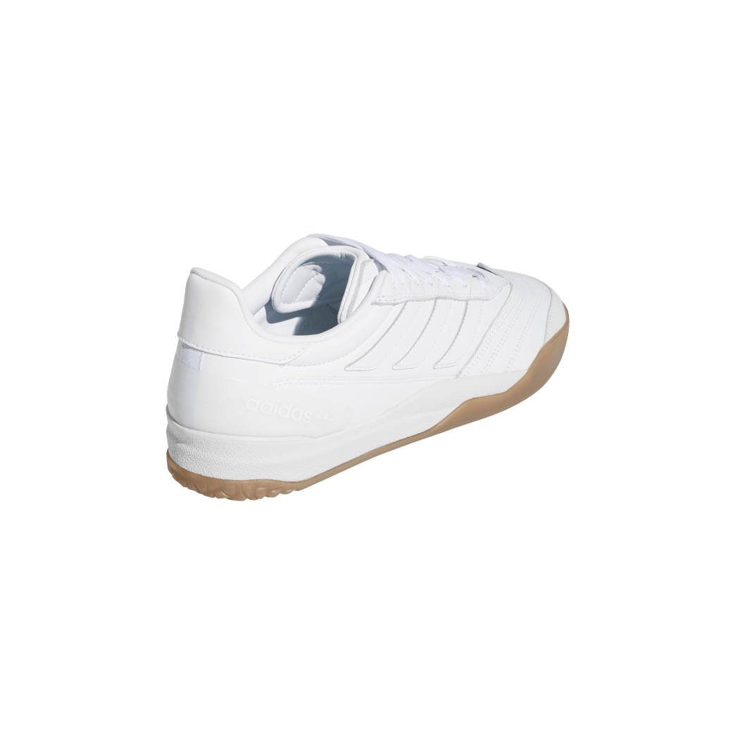adidas Copa Nationale Skate Shoe - FTWR White / Silver Met / Gum | Shoes by adidas Skateboarding 6