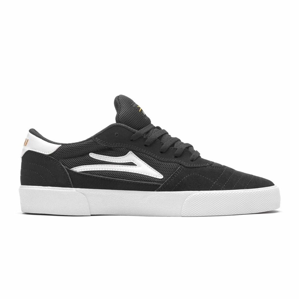 Lakai Cambridge Suede Skate Shoe - Black / White | Shoes by Lakai 1