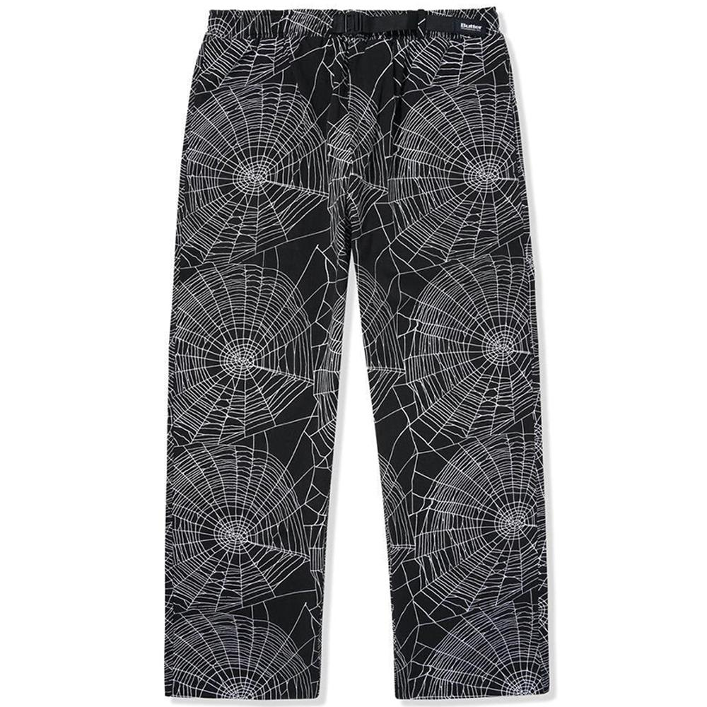 Butter Goods Web Pants - Black | Trousers by Butter Goods 1