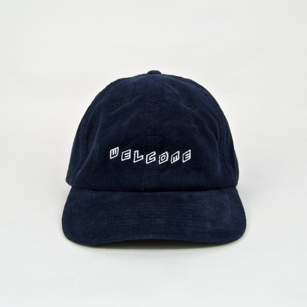 Welcome Skate Store - Twist Cord Cap - Navy | Baseball Cap by Welcome Skate Store 2