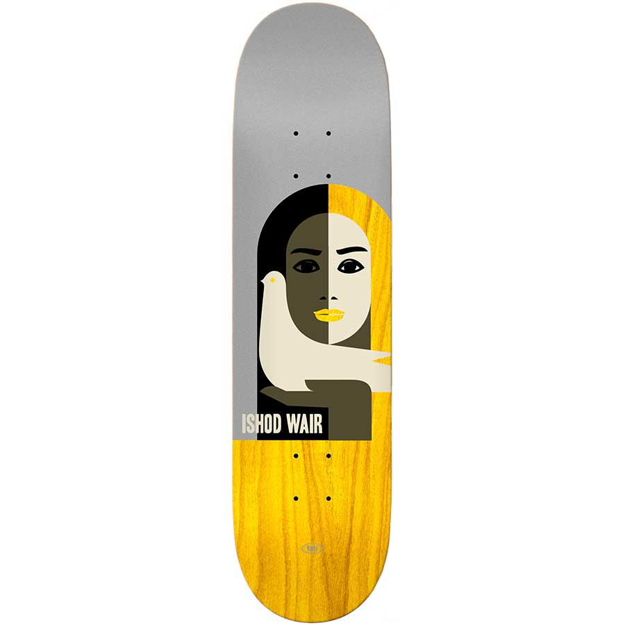 Real Skateboards Ishod Wair LTD Deck 8.38 & 8.06 | Deck by Real Skateboards 1