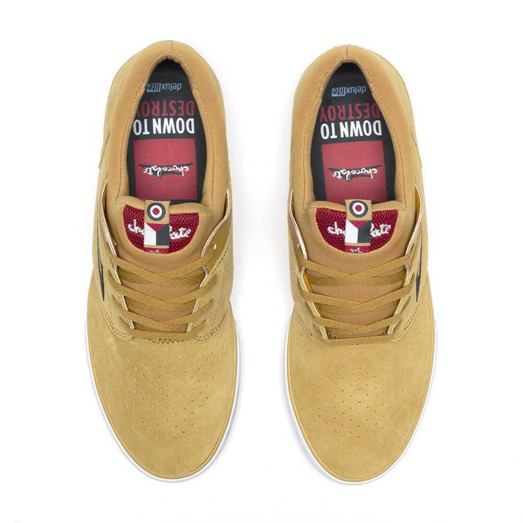 Lakai - Lakai x Chocolate Fremont Vulcanized Suede | Gold | Shoes by Lakai 3