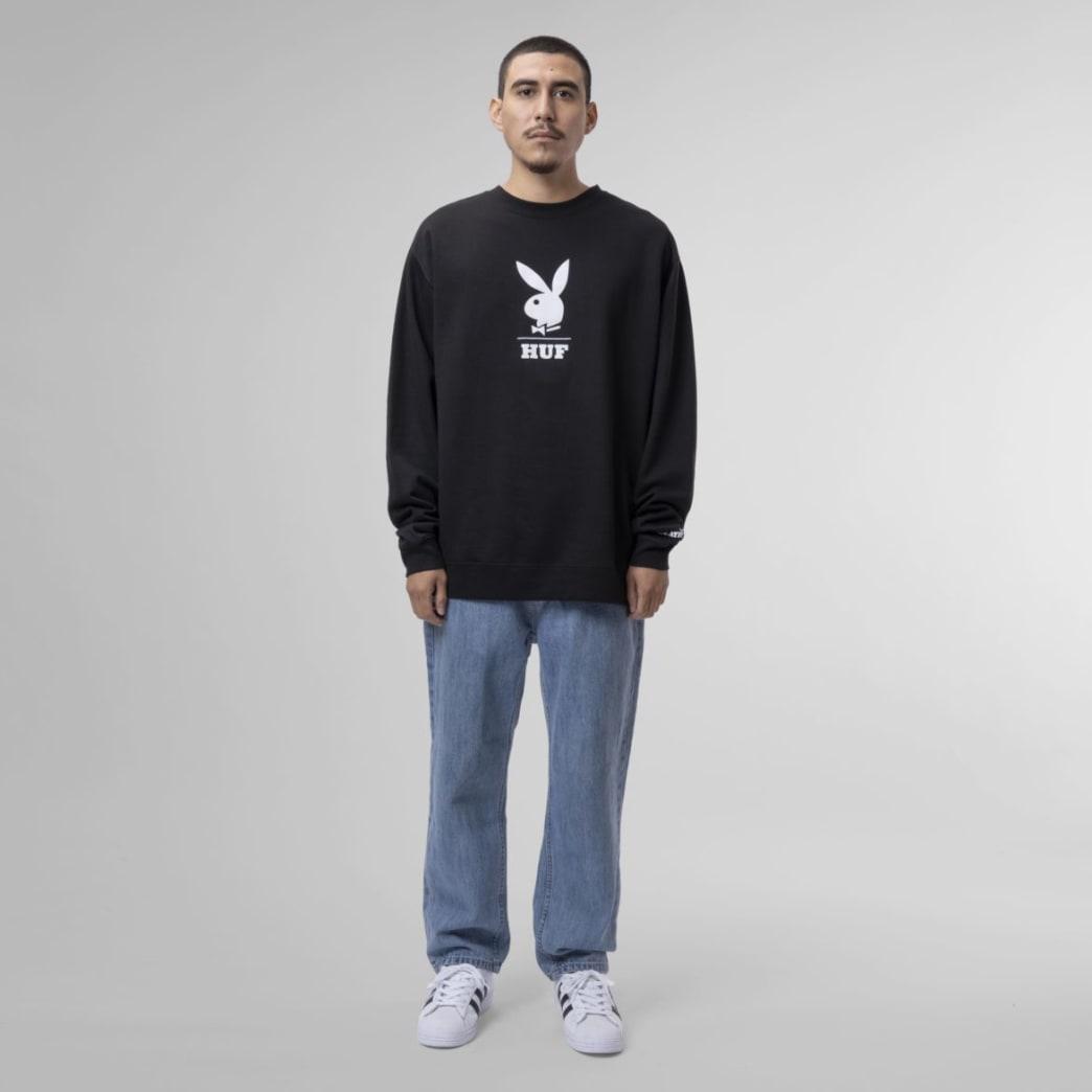 Huf X Playboy Logo Crewneck Sweatshirt | Sweatshirt by HUF 5