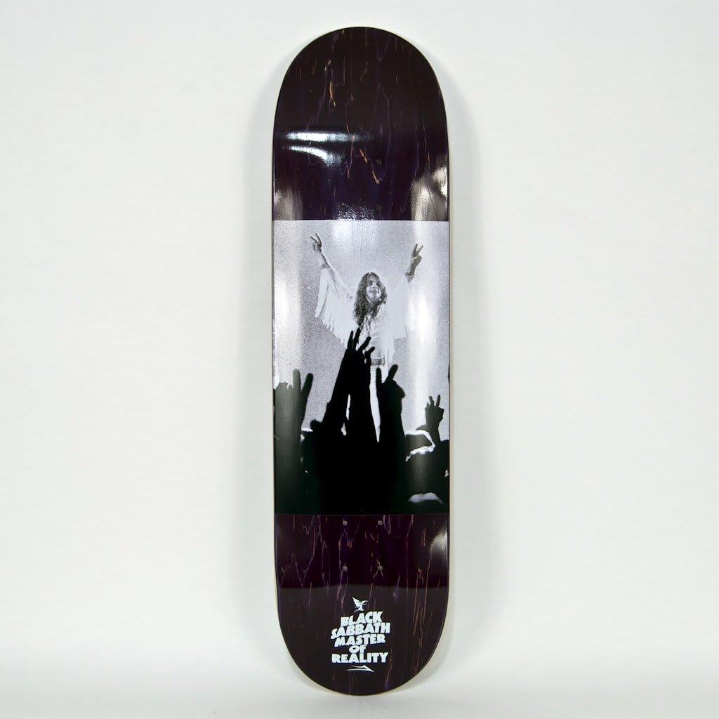 "Lakai - 8.25"" Black Sabbath Skateboard Deck (Purple Stain)   Deck by Lakai 1"