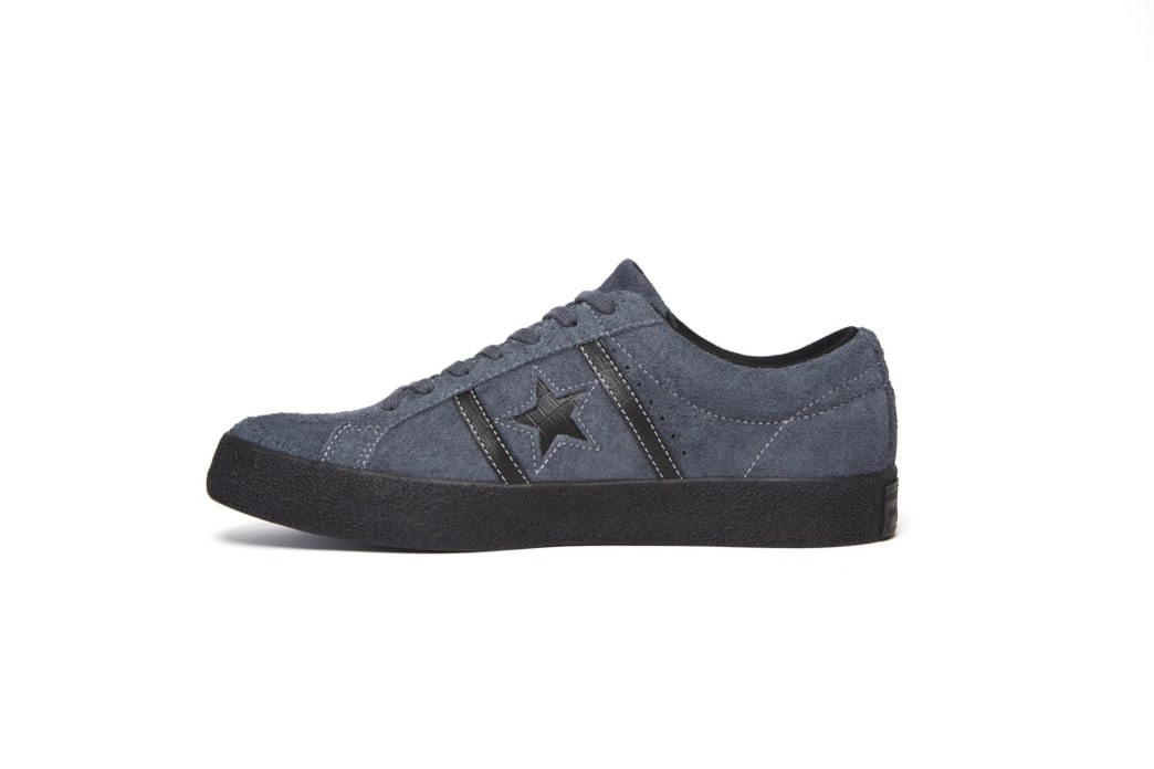 Converse Cons One Star Academy OX Skateboarding Shoes - Sharkskin/Black | Shoes by Converse Cons 2