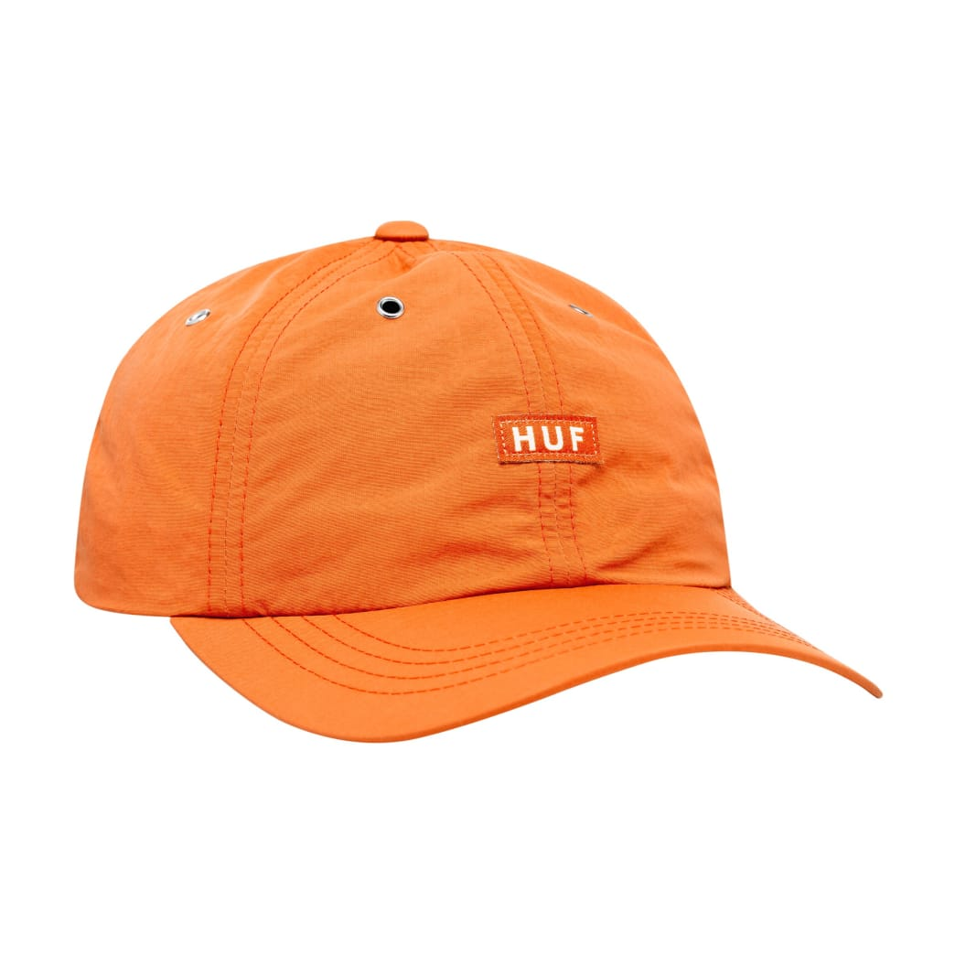 HUF - DWR Fuck It Curved Visor 6 Panel - Persimmon | Panel Hat by HUF 1