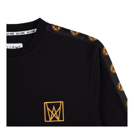 Welcome Skateboards Chalice Taped Long Sleeve Knit - Black / Gold | Longsleeve by Welcome Skateboards 2