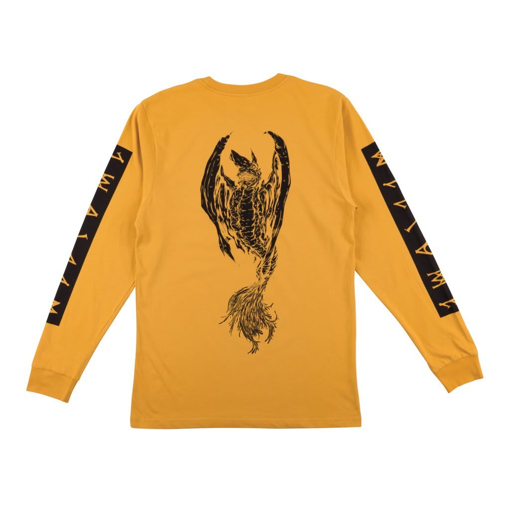 Welcome Skateboards Goblin Long Sleeve T-Shirt (Mustard) | Longsleeve by Welcome Skateboards 2