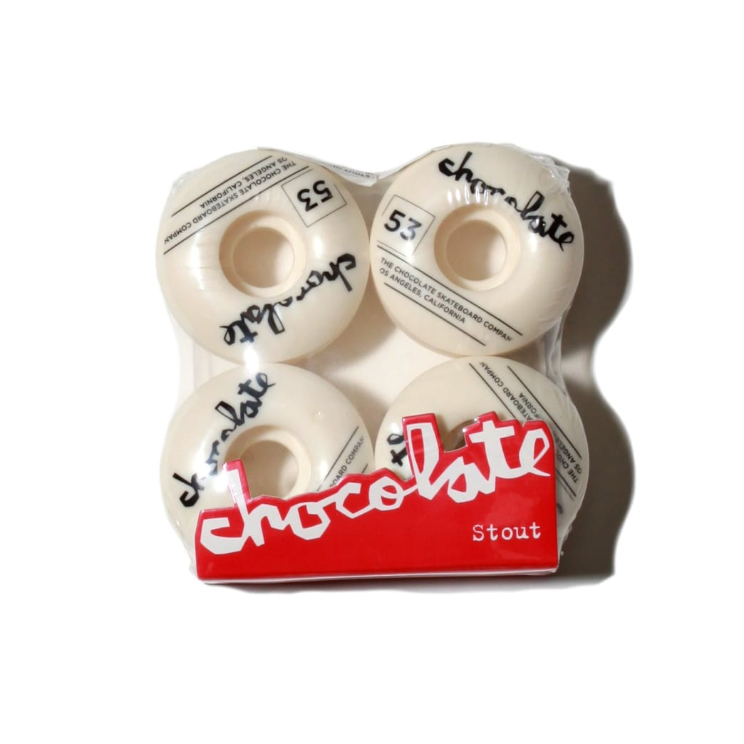 Chocolate Skateboards Stout wheel 53mm | Wheels by Chocolate Skateboards 1