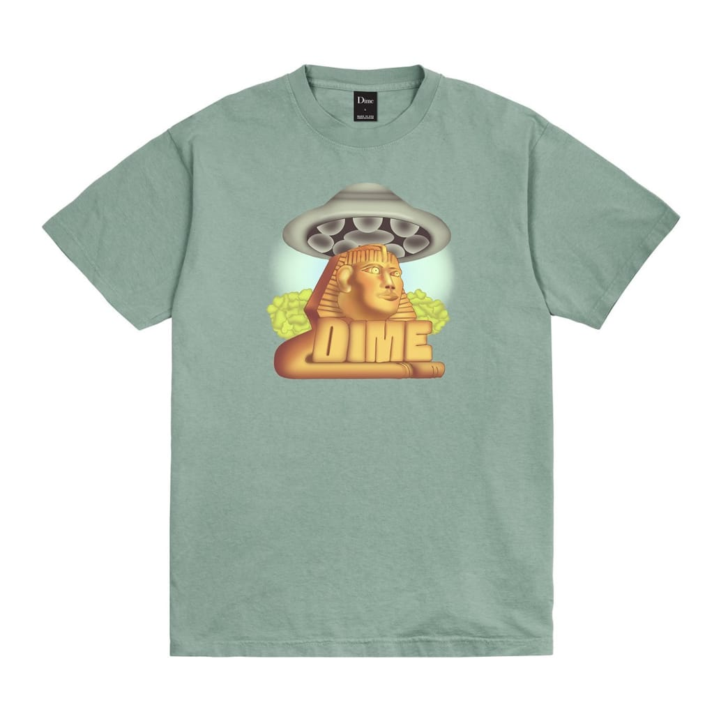 Dime Sphynx T-Shirt - Atlantic Green | T-Shirt by Dime MTL 1