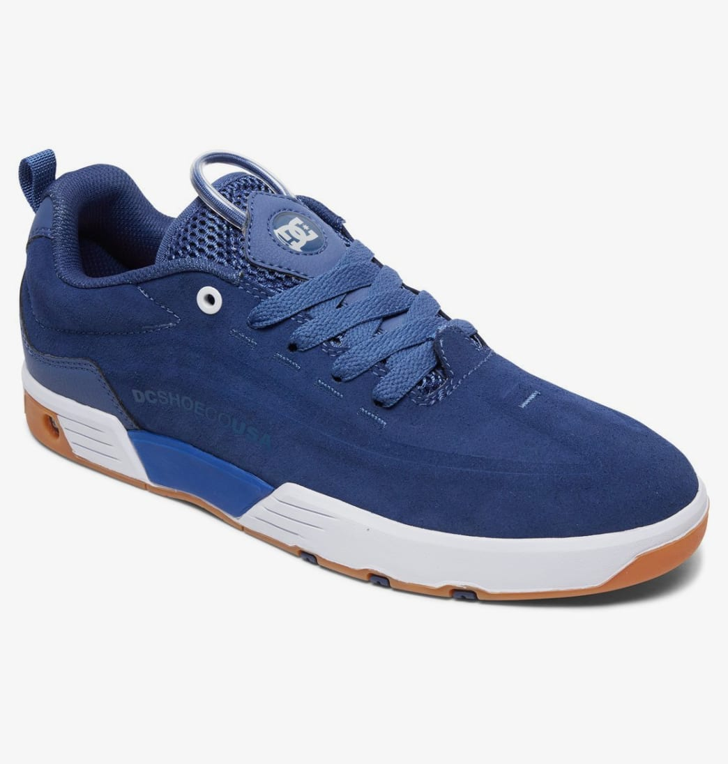 DC Legacy 98 Vac S Skate Shoes - Blue / White | Shoes by DC Shoes 2