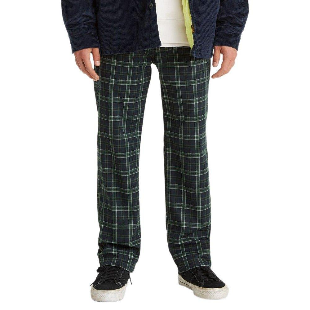 Levi's Skateboarding Collection Skate Work Pant Alexandrite Plaid | Chinos by Levi's Skateboarding 1