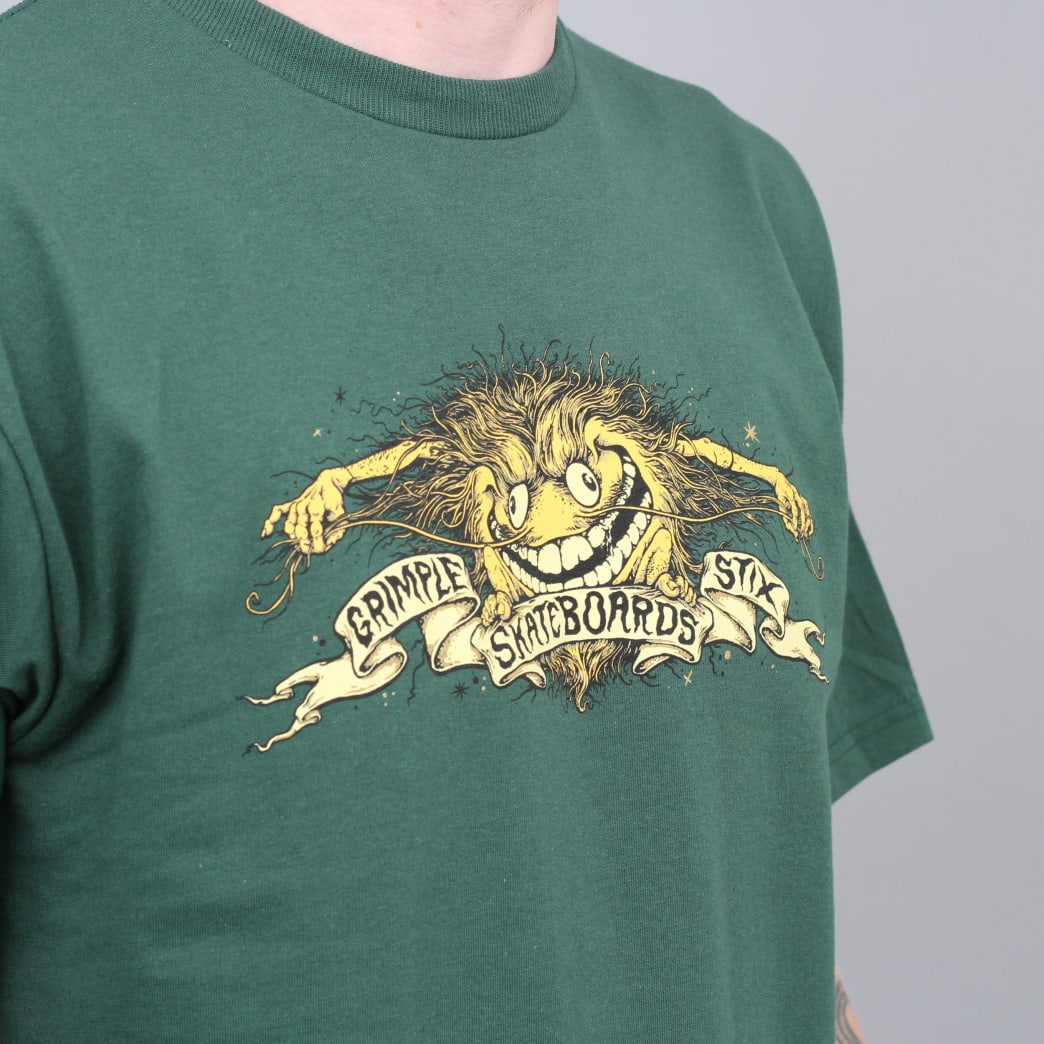 Anti Hero Grimple Stix Eagle T-Shirt Forest Green | T-Shirt by Antihero Skateboards 4