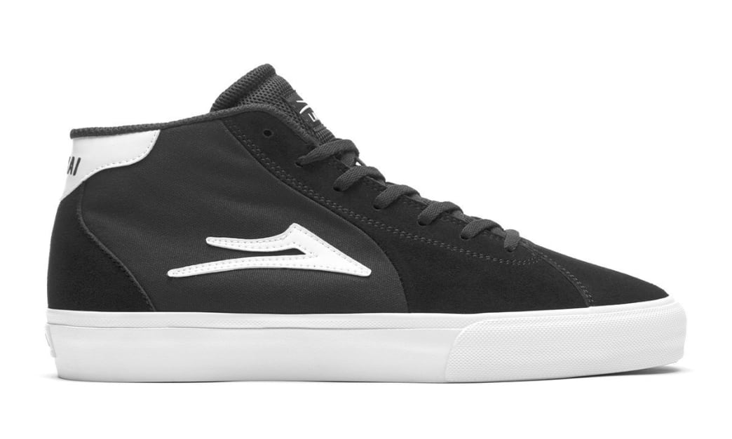Lakai - Flaco II Mid (Black/White) | Shoes by Lakai 1