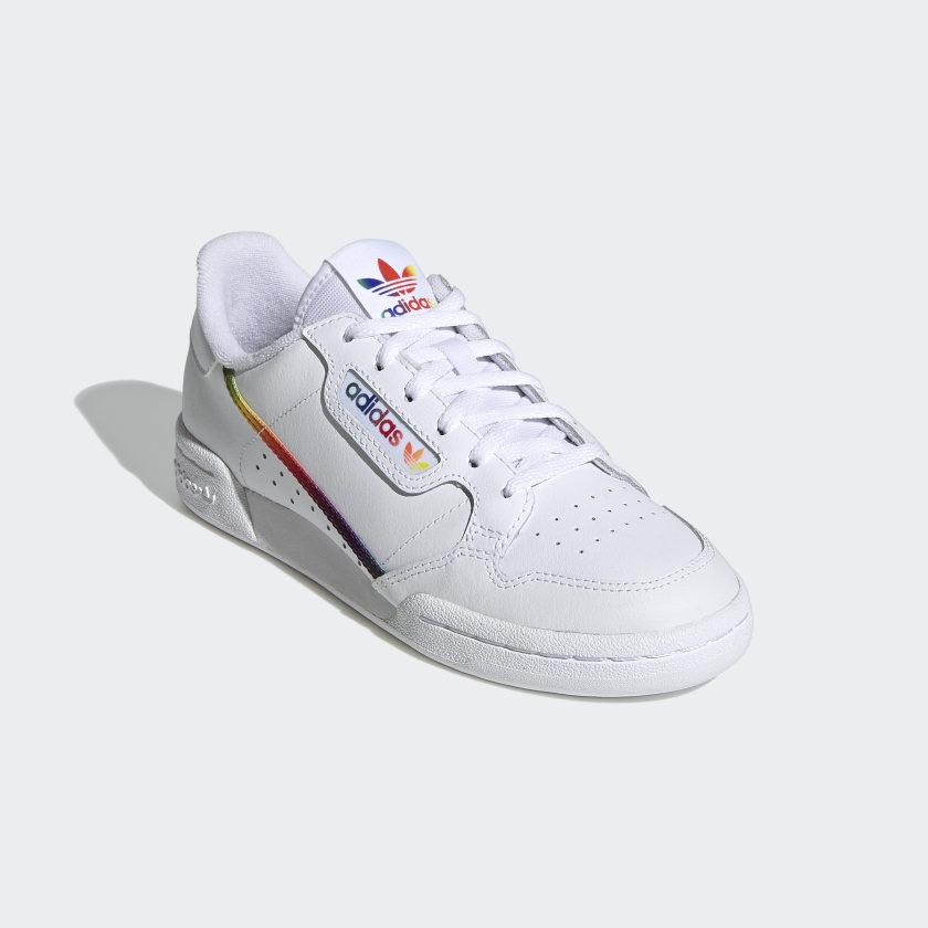 Adidas - Continental 80 - White/Multi   Shoes by adidas Skateboarding 2