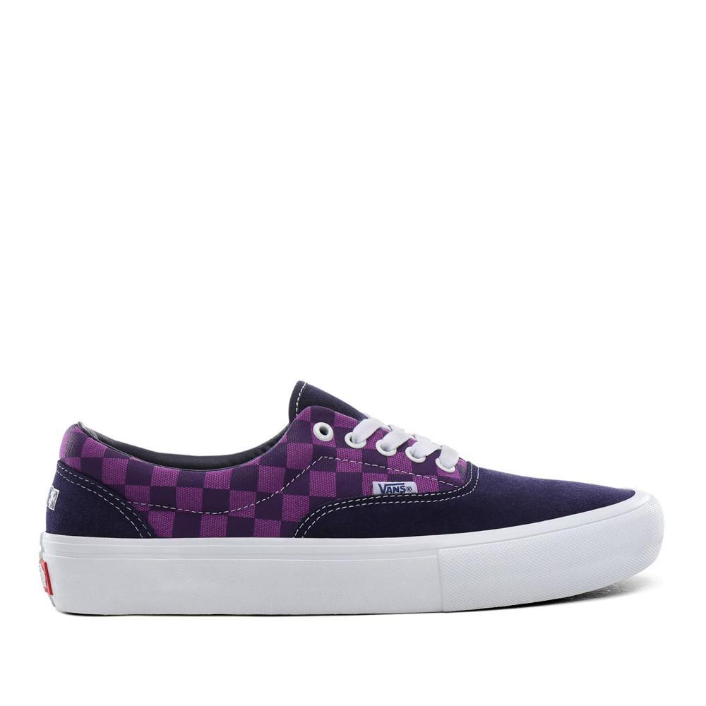 Vans x Baker Era Pro Skate Shoes - Kader / Purple Check   Shoes by Vans 1