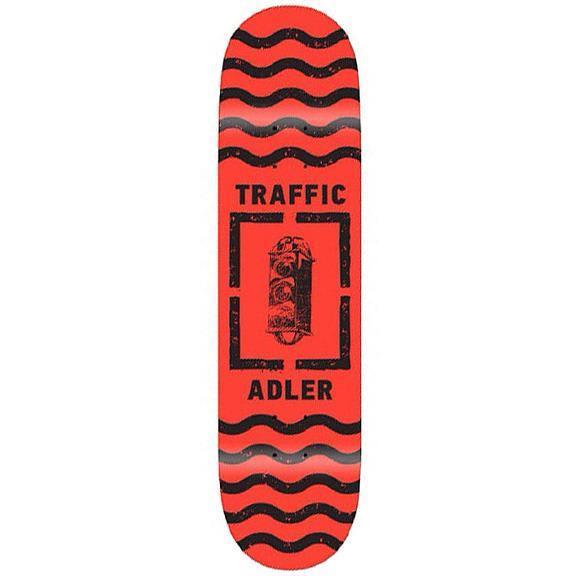 TRAFFIC ADLER ROAD PAINT DECK - 8.25 | Deck by Traffic Skateboards 1