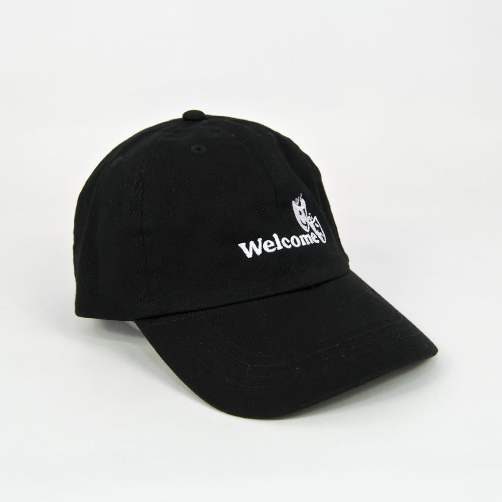 Welcome Skate Store - Drama Cap - Black | Baseball Cap by Welcome Skate Store 1