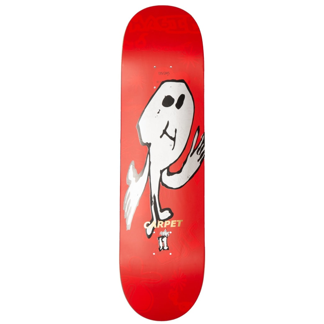 Carpet Company Silly Boy Deck Red | Deck by Carpet Company 1