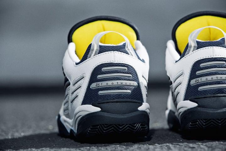eS Omega Skate Shoe - White / Navy | Shoes by eS Shoes 5