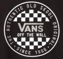 Vans - OG Checker L/S T-shirt - Black | Longsleeve by Vans 2