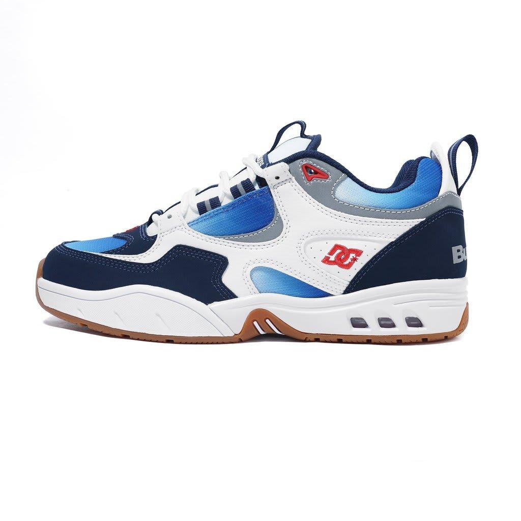 DC Shoes x Butter Goods OG Kalis Skateboard Shoe - White/Blue/Gum | Shoes by DC Shoes 2